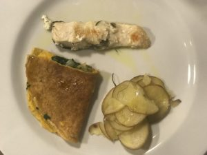 Secondo piatto alla Canapa